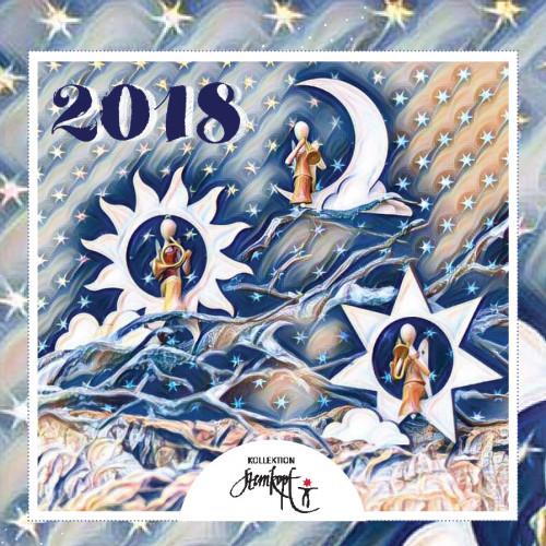 Kalender Sternkopf Engel 2018